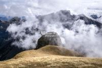 Nature Photography; Art; Landscape; Mountains; Rocks; Clouds; Fog, Switzerland; Zurich; Toggenburg; Chäserrugg