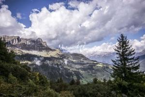 Nature Photography; Art; Landscape; Mountains; Rocks; Clouds; Fog, Switzerland; Zurich; Glarus