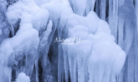 Nature Photography; Art; Landscape; Water; Waterfall; Ice; Frozen water; Winter moods; Water Forms; Bavaria; Germany